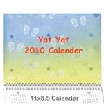 Yat Yat Calender - Wall Calendar 11  x 8.5  (12-Months)
