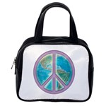 Peace Classic Handbag (One Side)