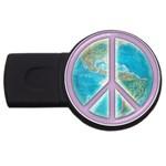 Peace USB Flash Drive Round (2 GB)
