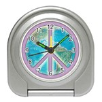 Peace Travel Alarm Clock