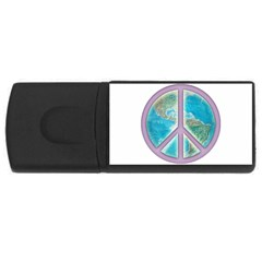 Peace USB Flash Drive Rectangular (4 GB) by aura2000