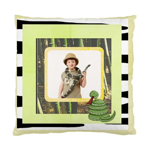 Safari Kids Ssssnake Cushion By Catvinnat   Standard Cushion Case (one Side)   Pqixkdvyqau5   Www Artscow Com Front