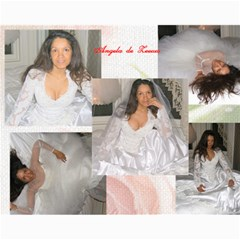 Robert & Angela Wedding Posters By Angela S A  Jainandunsing   Collage 11  X 14    Kyopkpn34owm   Www Artscow Com 14 x11 Print - 4