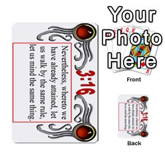 The 3:16 Game Deck 1 By Jighm Brown   Multi Purpose Cards (rectangle)   5s5vgz37z1dt   Www Artscow Com Front 39