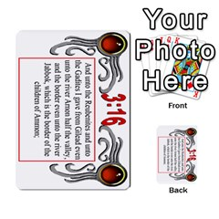 The 3:16 Game Deck 1 By Jighm Brown   Multi Purpose Cards (rectangle)   5s5vgz37z1dt   Www Artscow Com Front 5