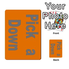 Press Your Luck Deck 1 By Jighm Brown   Multi Purpose Cards (rectangle)   Qhsy4iljgmnr   Www Artscow Com Front 1