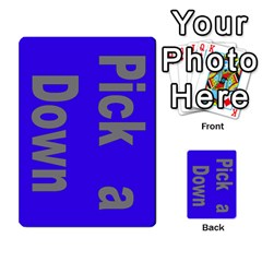Press Your Luck Deck 1 By Jighm Brown   Multi Purpose Cards (rectangle)   Qhsy4iljgmnr   Www Artscow Com Front 51