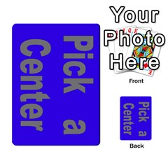 Press Your Luck Deck 1 By Jighm Brown   Multi Purpose Cards (rectangle)   Qhsy4iljgmnr   Www Artscow Com Front 52
