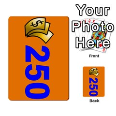Press Your Luck Deck 1 By Jighm Brown   Multi Purpose Cards (rectangle)   Qhsy4iljgmnr   Www Artscow Com Front 16