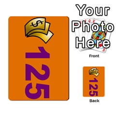 Press Your Luck Deck 1 By Jighm Brown   Multi Purpose Cards (rectangle)   Qhsy4iljgmnr   Www Artscow Com Front 20