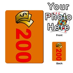 Press Your Luck Deck 1 By Jighm Brown   Multi Purpose Cards (rectangle)   Qhsy4iljgmnr   Www Artscow Com Front 22