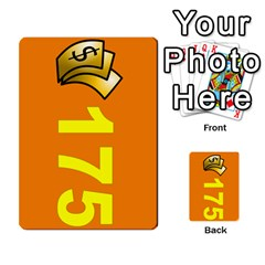 Press Your Luck Deck 1 By Jighm Brown   Multi Purpose Cards (rectangle)   Qhsy4iljgmnr   Www Artscow Com Front 25