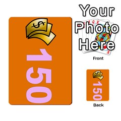 Press Your Luck Deck 1 By Jighm Brown   Multi Purpose Cards (rectangle)   Qhsy4iljgmnr   Www Artscow Com Front 28