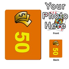 Press Your Luck Deck 1 By Jighm Brown   Multi Purpose Cards (rectangle)   Qhsy4iljgmnr   Www Artscow Com Front 35