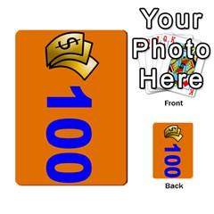 Press Your Luck Deck 1 By Jighm Brown   Multi Purpose Cards (rectangle)   Qhsy4iljgmnr   Www Artscow Com Front 36