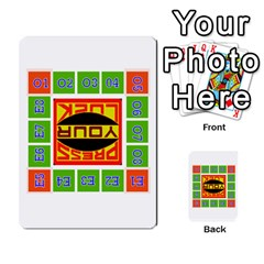 Press Your Luck Deck 1 By Jighm Brown   Multi Purpose Cards (rectangle)   Qhsy4iljgmnr   Www Artscow Com Front 47