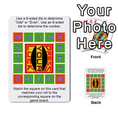 Press Your Luck Deck 1 By Jighm Brown   Multi Purpose Cards (rectangle)   Qhsy4iljgmnr   Www Artscow Com Back 47