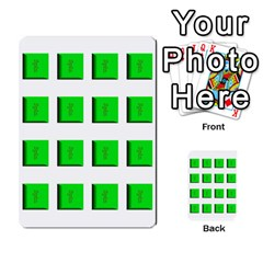 Press Your Luck Deck 1 By Jighm Brown   Multi Purpose Cards (rectangle)   Qhsy4iljgmnr   Www Artscow Com Front 50