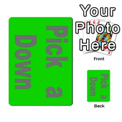 Press Your Luck Deck 3 By Jighm Brown   Multi Purpose Cards (rectangle)   Df3ko85ymqcg   Www Artscow Com Front 1