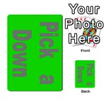 Press Your Luck Deck 3 - Multi-purpose Cards (Rectangle)
