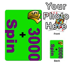 Press Your Luck Deck 3 By Jighm Brown   Multi Purpose Cards (rectangle)   Df3ko85ymqcg   Www Artscow Com Front 7