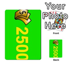Press Your Luck Deck 3 By Jighm Brown   Multi Purpose Cards (rectangle)   Df3ko85ymqcg   Www Artscow Com Front 13