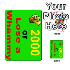Press Your Luck Deck 3 By Jighm Brown   Multi Purpose Cards (rectangle)   Df3ko85ymqcg   Www Artscow Com Front 14