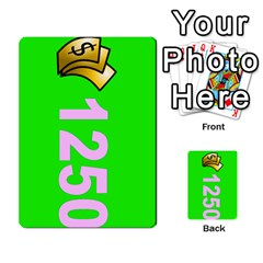 Press Your Luck Deck 3 By Jighm Brown   Multi Purpose Cards (rectangle)   Df3ko85ymqcg   Www Artscow Com Front 20