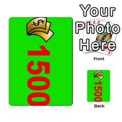 Press Your Luck Deck 3 By Jighm Brown   Multi Purpose Cards (rectangle)   Df3ko85ymqcg   Www Artscow Com Front 23