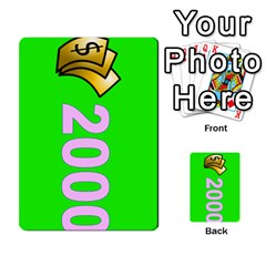 Press Your Luck Deck 3 By Jighm Brown   Multi Purpose Cards (rectangle)   Df3ko85ymqcg   Www Artscow Com Front 24