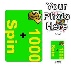 Press Your Luck Deck 3 By Jighm Brown   Multi Purpose Cards (rectangle)   Df3ko85ymqcg   Www Artscow Com Front 27