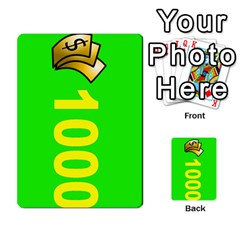 Press Your Luck Deck 3 By Jighm Brown   Multi Purpose Cards (rectangle)   Df3ko85ymqcg   Www Artscow Com Front 29