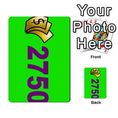 Press Your Luck Deck 3 By Jighm Brown   Multi Purpose Cards (rectangle)   Df3ko85ymqcg   Www Artscow Com Front 34
