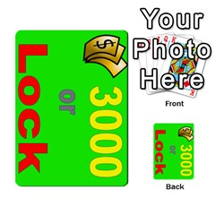 Press Your Luck Deck 3 By Jighm Brown   Multi Purpose Cards (rectangle)   Df3ko85ymqcg   Www Artscow Com Front 38