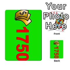 Press Your Luck Deck 3 By Jighm Brown   Multi Purpose Cards (rectangle)   Df3ko85ymqcg   Www Artscow Com Front 39