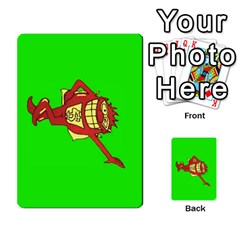 Press Your Luck Deck 3 By Jighm Brown   Multi Purpose Cards (rectangle)   Df3ko85ymqcg   Www Artscow Com Front 45