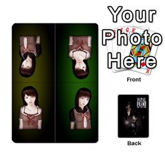 Fatal Frame Deck 3   Locations And Setup By Heavenslaughing   Playing Cards 54 Designs   52y8v3e10kk1   Www Artscow Com Front - Diamond7