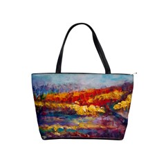 Autumn On The Horizon By Alana   Classic Shoulder Handbag   Kr2shofag5zp   Www Artscow Com Front
