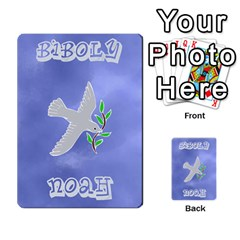 Biboly: Noah Deck 1 By Jighm Brown   Playing Cards 54 Designs   R0wgkg7j8jct   Www Artscow Com Back