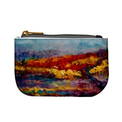 Autumn On The Horizon By Alana   Mini Coin Purse   Blvr3v68inz3   Www Artscow Com Front