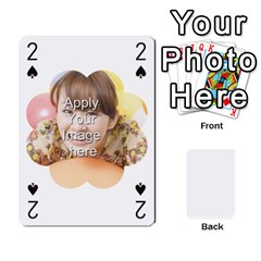 Special 4 Numbers Version By Berry   Playing Cards 54 Designs   Erzsak34ei2l   Www Artscow Com Front - Club2
