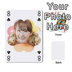 Special 4 Numbers Version By Berry   Playing Cards 54 Designs   Erzsak34ei2l   Www Artscow Com Front - Spade8