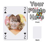 Special 4 Numbers Heart Version - Playing Cards 54 Designs