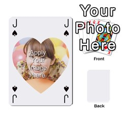 Jack Special 4 Numbers Heart Version By Berry   Playing Cards 54 Designs   Semqqz4z1bym   Www Artscow Com Front - ClubJ