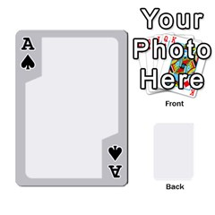 Ace Sliver Border By Wood Johnson   Playing Cards 54 Designs   Eab1ptdxrzan   Www Artscow Com Front - SpadeA