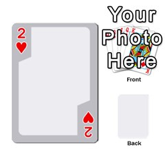 Sliver Border By Wood Johnson   Playing Cards 54 Designs   Eab1ptdxrzan   Www Artscow Com Front - Heart2