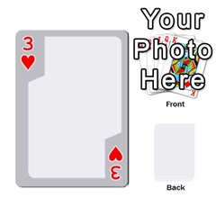 Sliver Border By Wood Johnson   Playing Cards 54 Designs   Eab1ptdxrzan   Www Artscow Com Front - Heart3