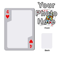 Sliver Border By Wood Johnson   Playing Cards 54 Designs   Eab1ptdxrzan   Www Artscow Com Front - Heart4