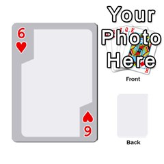 Sliver Border By Wood Johnson   Playing Cards 54 Designs   Eab1ptdxrzan   Www Artscow Com Front - Heart6