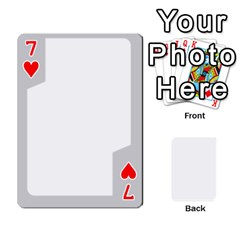 Sliver Border By Wood Johnson   Playing Cards 54 Designs   Eab1ptdxrzan   Www Artscow Com Front - Heart7